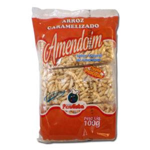 Paulista Arroz Caramelizado Amendoim 100g