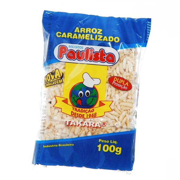 Arroz Caramelizado Paulista Tradicional 100g