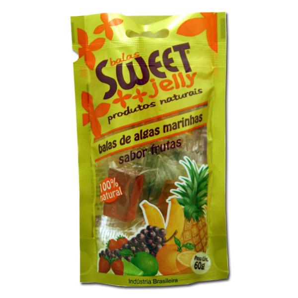 Balas Algas Marinhas Sweet Jelly 60g