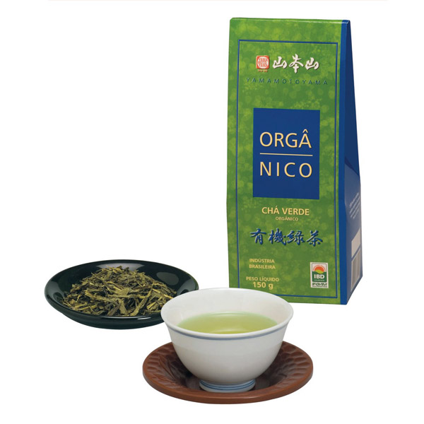 Chá Verde Orgânico Yamamotoyama 150g