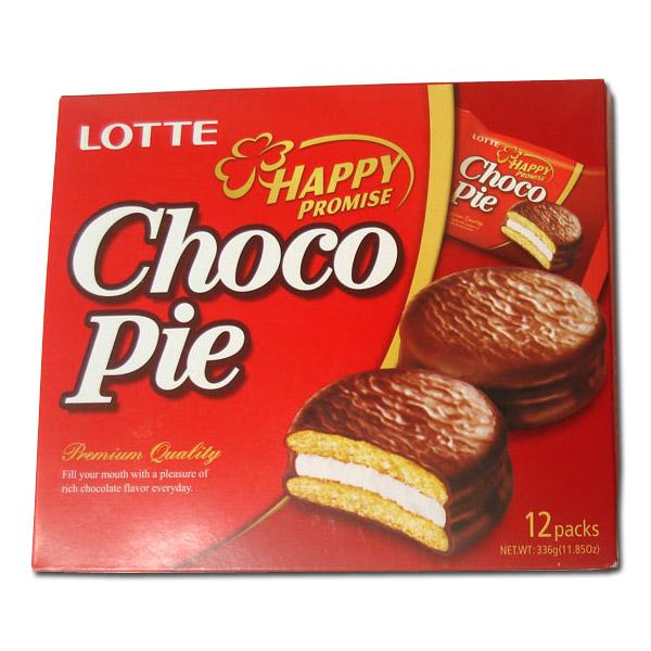 Chocopie Lotte 12un
