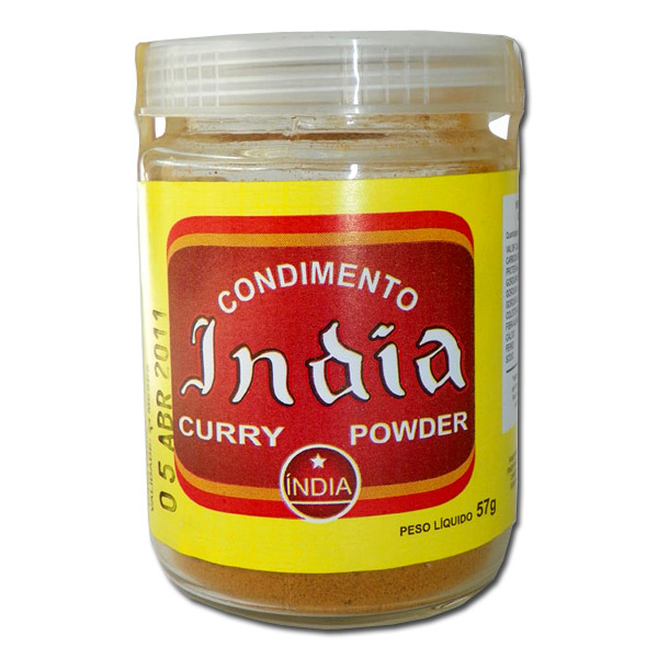 Condimento da India Curry