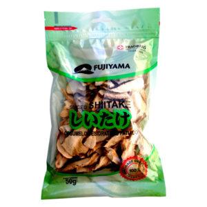 shitake cogumelo seco fatiado 50g