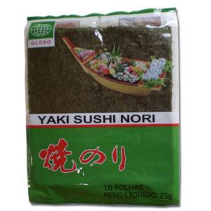 Globo Yaki Sushi Nori 10fls