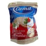 Camil Mini Biscoitos de Arroz Integral com Pimenta
