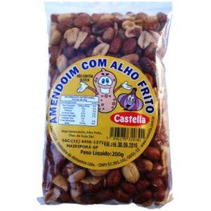 Castella Amendoim com Alho