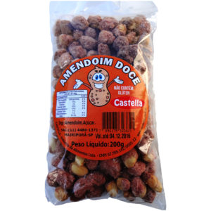 Castella Amendoim Doce