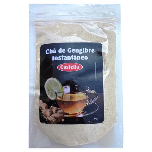 Castella Chá de Gengibre instantâneo