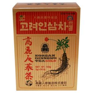 Chá Korean Ginseng sache