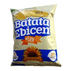 Ebicen Batata Frita Ondulada + Lev