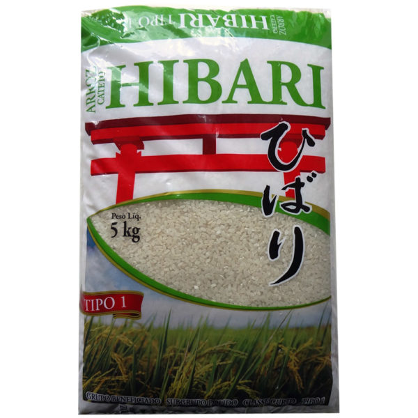 Hibari Arroz Oriental Curto 5kg