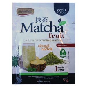 Matcha Fruit Chá Verde Abacaxi com Hortelã