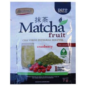 Matcha Fruit Chá Verde Cranberry