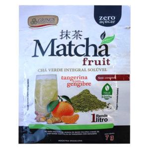 Matcha Fruit Chá Verde Tangerina com Gengibre