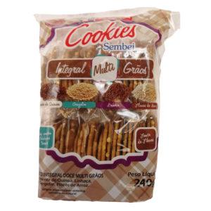 Satsumaya Cookies Sembei Integral Multigrãos