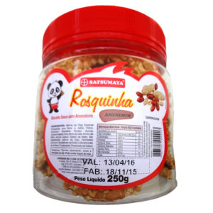Satsumaya Rosquinha de Amendoim Pote