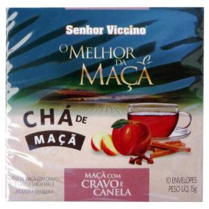 Senhor Viccino Chá de Maçã com Cravo e Canela Sache