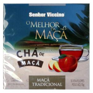 Senhor Viccino Chá de Maçã Tradicional Sache