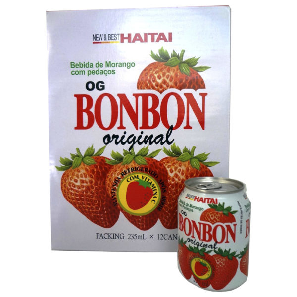 Suco Haitai Bonbon de Morango