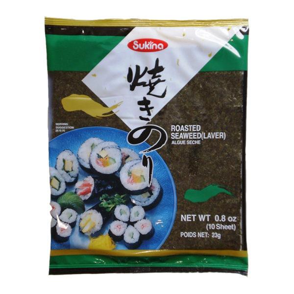 Sukina Yaki Sushi Nori 10fls