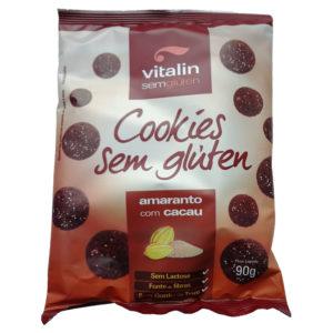 Vitalin Cookies Amaranto com Cacau