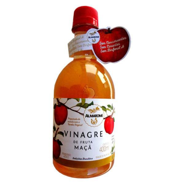Almaromi Vinagre de Maçã Orgânico Acidez 4%