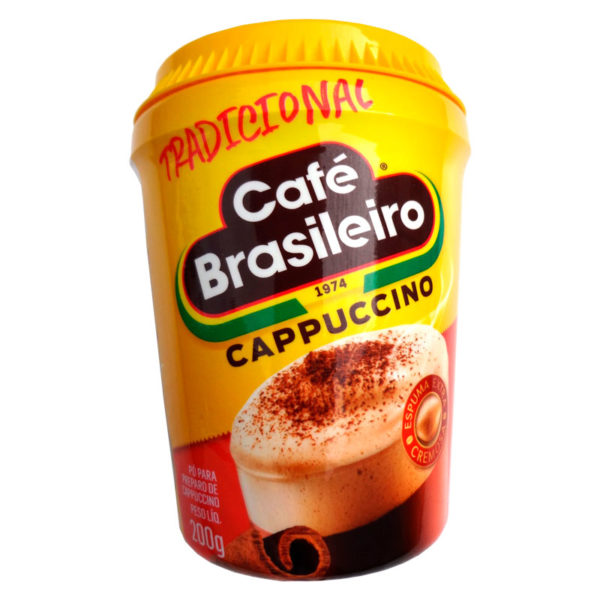 Café Brasileiro – Cappuccino Tradicional