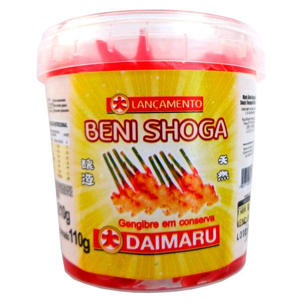 Daimaru Gengibre em Conserva Beni Shoga Palito