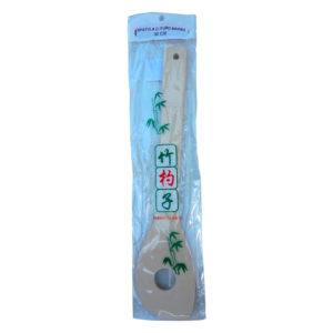 Espatula de Bambu Com Furo