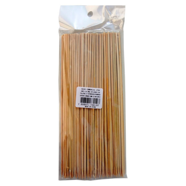 Espeto de Bambu 18cm