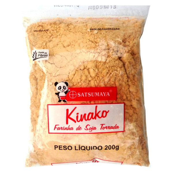 Kinako Farinha de Soja Torrada