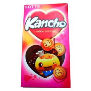 Lotte Kancho Biscoito de Chocolate
