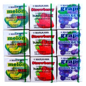 Marukawa Bubble Gum Sabores