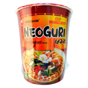 NongShim Macarrão Instant neoguri cup spicy