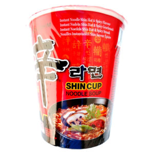 Nongshim Macarrão Instantaneo Shin Cup Spicy