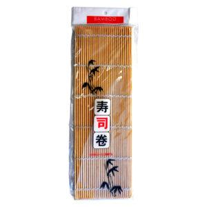 Sudare Esteira de Bambu Redondo Sushi Mat