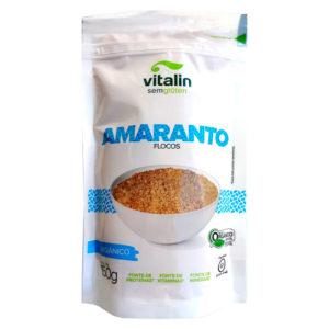 Vitalin Amaranto Orgânico em Flocos