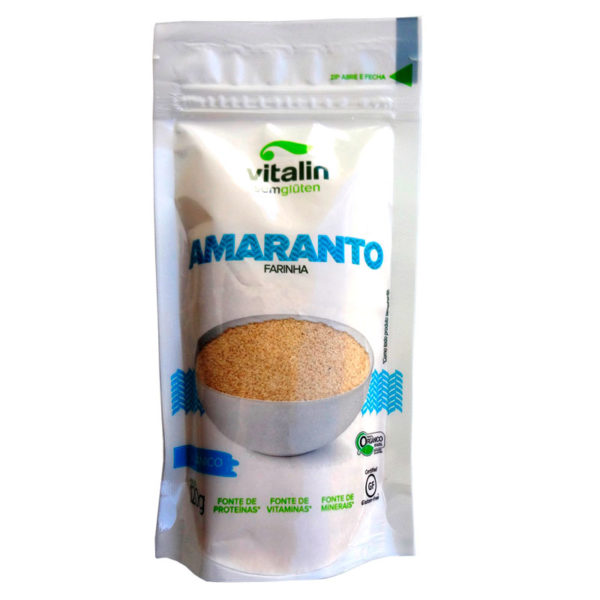 Vitalin Farinha de Amaranto Orgânica