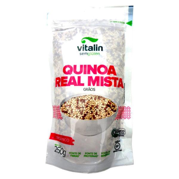 Vitalin Quinoa Real Mista Orgânico em Grãos