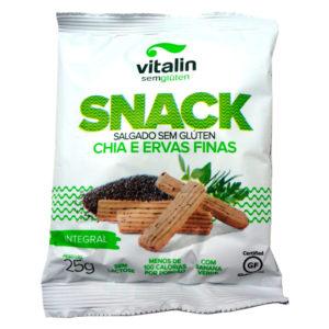 Vitalin Snack Chia e Ervas Finas Integral
