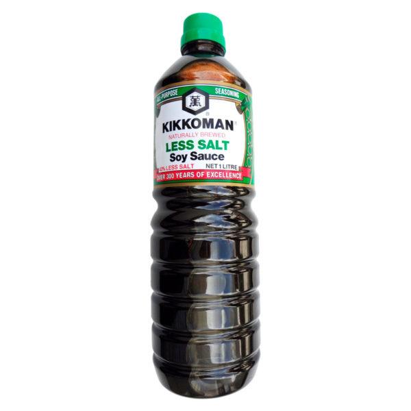 kikkoman shoyu less salt